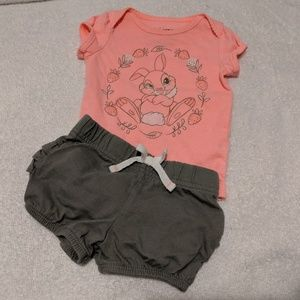 Disney Jumping Bean 3m Thumper outfit set